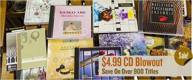 Percussion CD Sale.