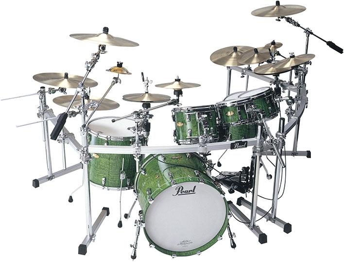 Pearl Masterworks Custom Drums