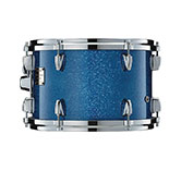 Yamaha Absolute drum with Blue Sparkle finish.