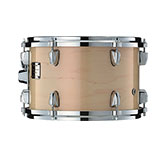 Yamaha Absolute drum with Red Pearl Natural finish.
