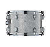 Yamaha Absolute drum with Silver Sparkle finish.