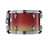 Yamaha Absolute drum with Apple Sparkle Fade finish.