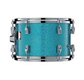 Yamaha Absolute drum with Blue Ice Sparkle finish.