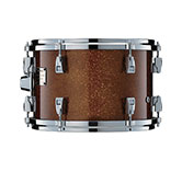 Yamaha Absolute drum with Caramel Sparkle finish.