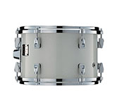 Yamaha Absolute drum with Luminous White Sparkle finish.