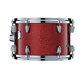 Yamaha Absolute drum with Red Sparkle finish.