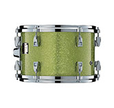 Yamaha Absolute drum with White Grape Sparkle finish.