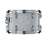 Yamaha Absolute drum with White Marine Pearl Wrap finish.