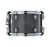 Yamaha Absolute drum with Black Sparkle Sunburst finish.