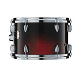 Yamaha Absolute drum with Cherry Black Fade finish.