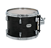 Yamaha PHX maple exterior shell in Matte Black finish with chrome hardware.