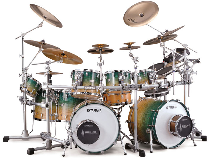 Yamaha PHX drum set.