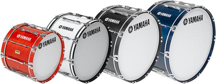Marching Bass Drum Heads Yamaha