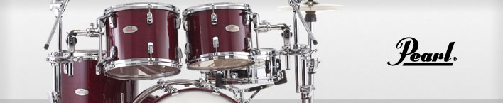 Pearl Reference Pure drum set.