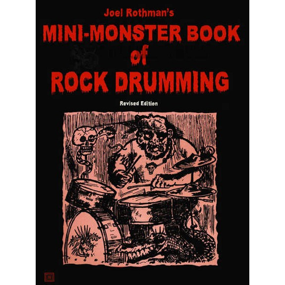 rothman mini monster book of rock drumming drum set method books drum set steve weiss music. Black Bedroom Furniture Sets. Home Design Ideas