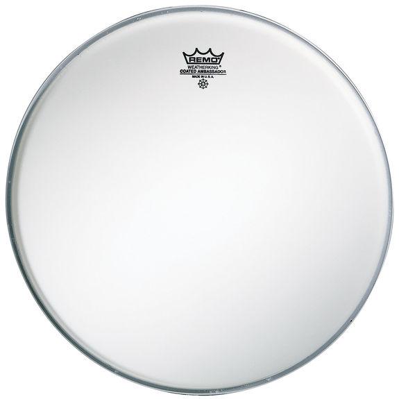 remo ambassador coated bass drum head bass drum heads drum set drum heads steve weiss music. Black Bedroom Furniture Sets. Home Design Ideas
