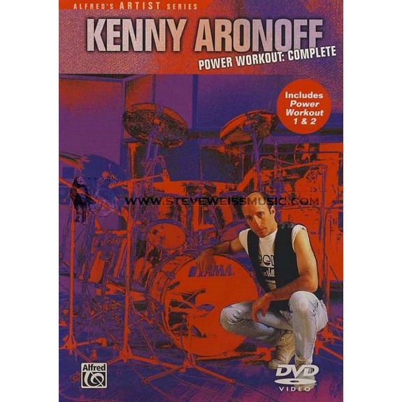 Fitness Music Dvd: Aronoff-Kenny Aronoff Power Workout: Complete (DVD
