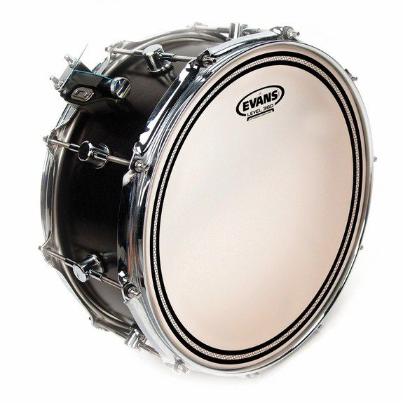 evans ec frosted snare drum head snare drum heads tom heads steve weiss music. Black Bedroom Furniture Sets. Home Design Ideas