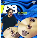 sabian b8 2-pack cymbal set (45002)