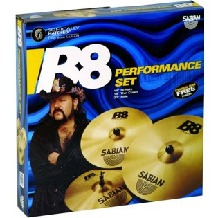 sabian b8 performance set (45003)
