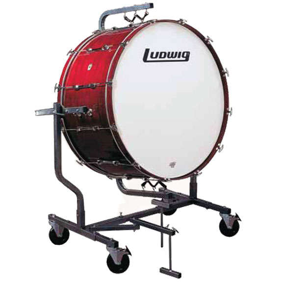 ludwig concert bass drum stand suspended all terrain concert bass drums concert steve. Black Bedroom Furniture Sets. Home Design Ideas