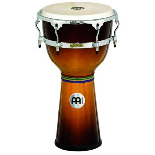 "meinl 12"" floatune series wood djembe"