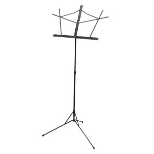yamaha black folding music stand with carry bag