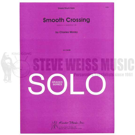 Smooth Crossing by Charles Morey | Unaccomp. Solo | Snare ...