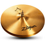 """zildjian 15"""" a new beat hi-hat cymbals"""