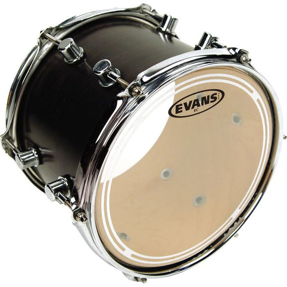 evans ec resonant drumhead snare drum heads tom heads steve weiss music. Black Bedroom Furniture Sets. Home Design Ideas