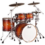 "pearl masters mcx 4-piece fusion shell pack with 20"" bass drum"