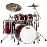 "pearl masters mcx 4-piece hybrid shell pack with 22"" bass"