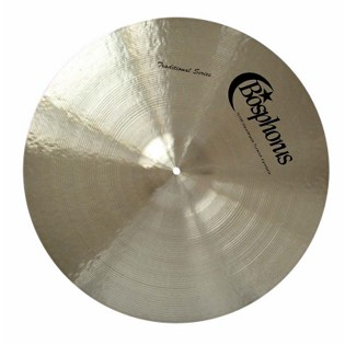 "bosphorus 18"" traditional series paper thin crash cymbal"