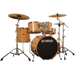 "yamaha stage custom birch 5-piece drum set with 20"" bass"