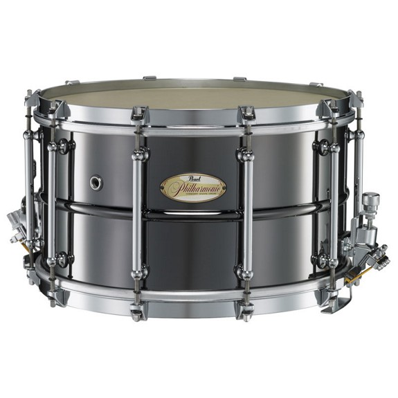 pearl phb1480 brass philharmonic snare drum pearl snare drums concert snare drums steve. Black Bedroom Furniture Sets. Home Design Ideas