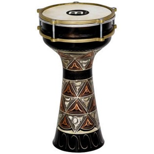 "meinl copper hand engraved darbuka - 7 1/2"" x 14 3/4"""