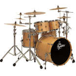 "gretsch new classic groove kit shell pack drum set with 20"" bass"