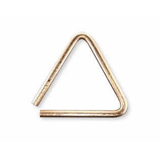 "grover 06"" bronze pro hammered triangle"