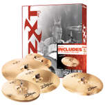 "zildjian zxt pro 4 cymbal pack with free 18"" med. thin crash"