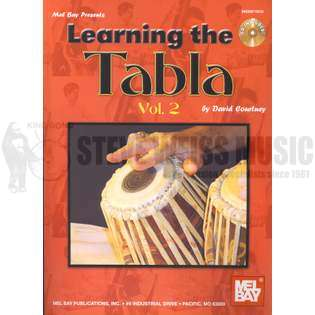courtney-learning the tabla vol. 2 (w/cd)