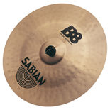 "sabian 18"" b8 china cymbal"