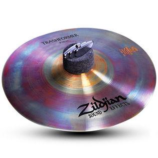 """zildjian 08"""" zxt trashformer cymbal"""