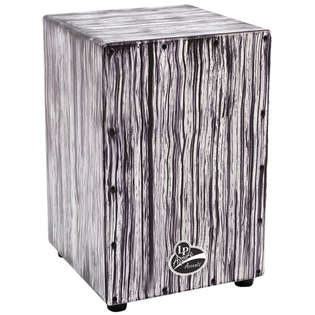 lp aspire cajon - white streak finish