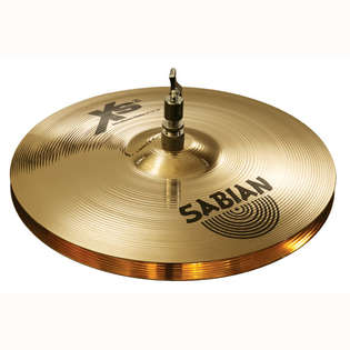 "sabian 13"" xs20 brilliant medium hi-hat cymbals"