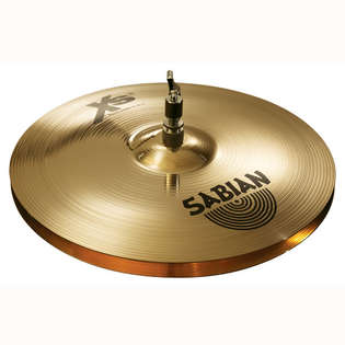 sabian 14&quot; xs20 brilliant medium hi-hat cymbals