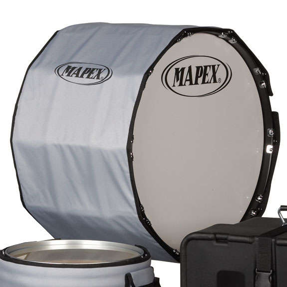 mapex marching bass drum cover marching drum covers marching steve weiss music. Black Bedroom Furniture Sets. Home Design Ideas