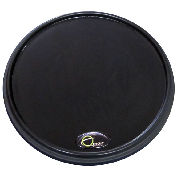 offworld percussion invader v3 practice pad black marching drum tenor practice pads drum. Black Bedroom Furniture Sets. Home Design Ideas
