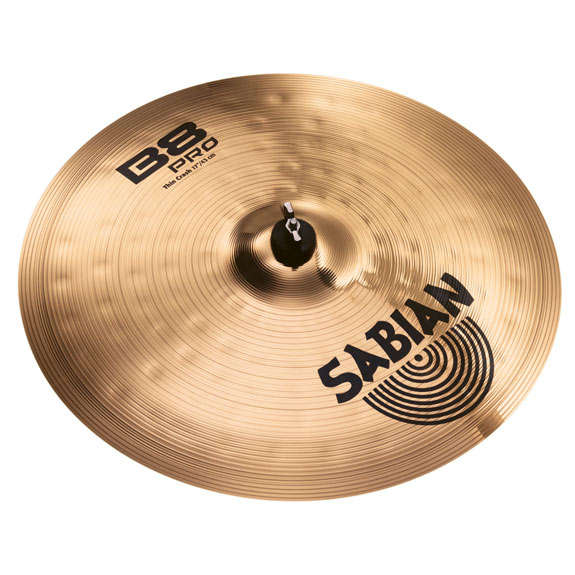 sabian 17 b8 pro thin crash cymbal crash cymbals steve weiss music. Black Bedroom Furniture Sets. Home Design Ideas