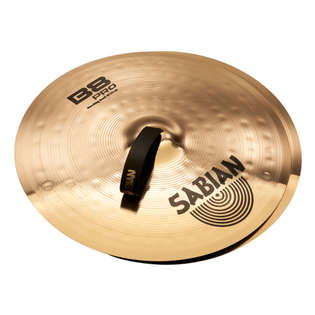 "sabian 18"" b8 pro marching band cymbals"