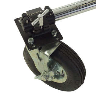 gibraltar 9&quot; pneumatic caster with brake
